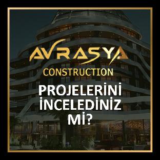 Avrasya Construction Girne Konut Projeleri Kıbrıs Emlak Merkezi'nde!